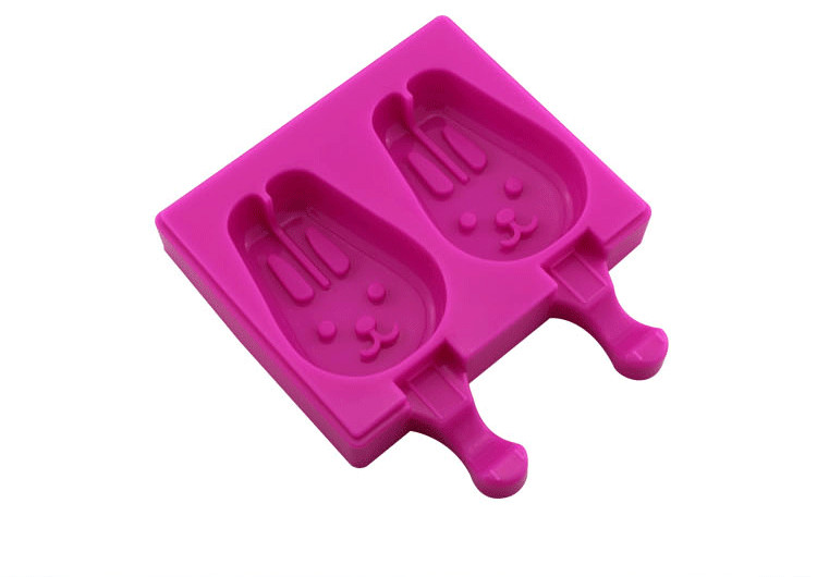 Silicone Easy Cream Mini Ice Cream Bar Mold Set of 2