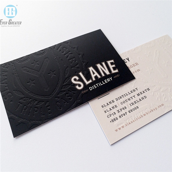 Custom Business Card Embossed Business Card Business Card Printing