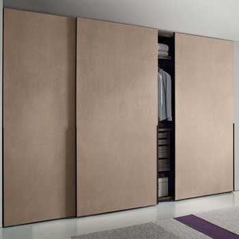 Modern Bedroom Furniture Wood Wardrobe Pvc Film Sliding Doors Almirah  Designs In Bedroom - Buy Modern Bedroom Furniture,Wood Wardrobe,Almirah  Designs ...