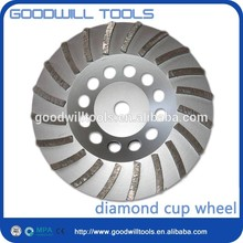 china supplier turbo cup wheel grinding disk high performance