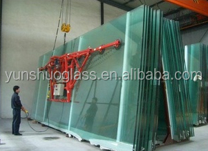 Clear float glass 2 mm to 19 mm