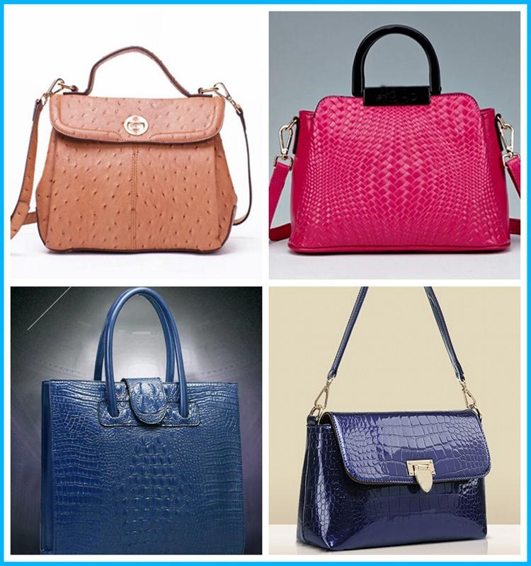 Crazy promotion animal skin PVC bag leather