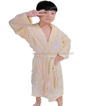 Towelling Dressing Gown Funny Wrap Pyjamas Children Bath Robes - Buy ...