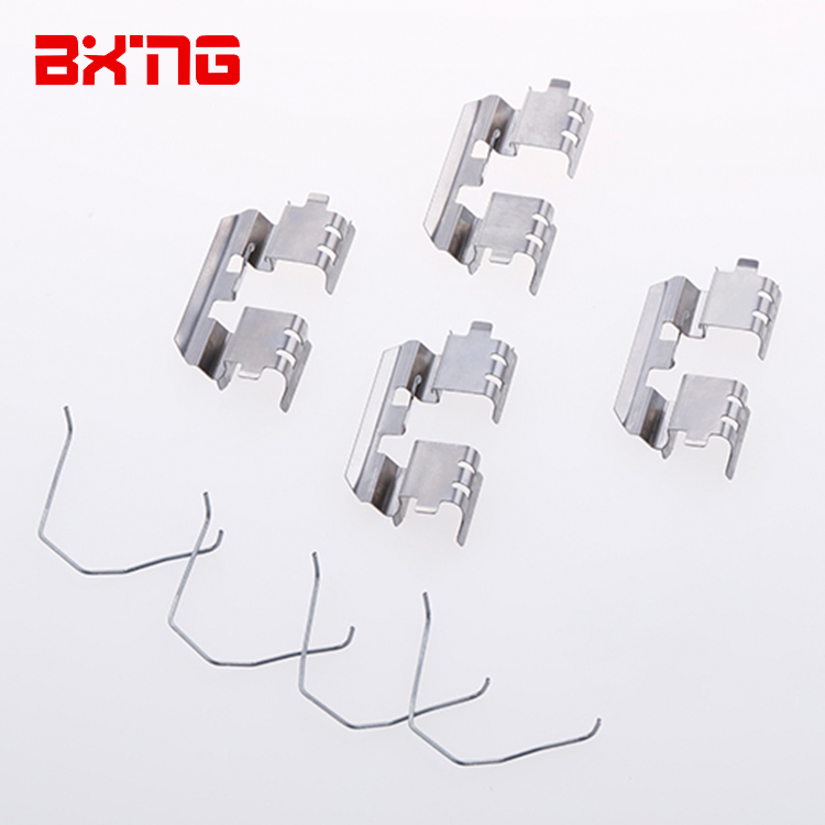 China factory BOXING 801C097 automotive spring clips fasteners disc caliper brake pad fitting kit