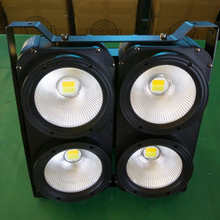 Professional COB 4x100W Led สี Warm White Cob Blinder Light Disco Stage ไฟ Dmx