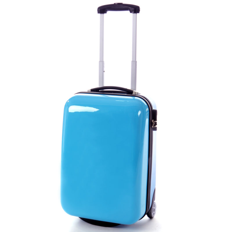 Abs en pc trolley/trolley tas/abs bagage spinner