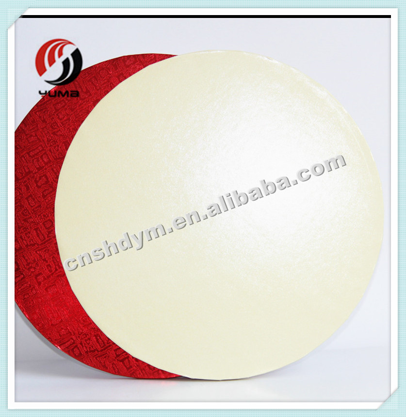 wholesale thick edge wrapped cake drum