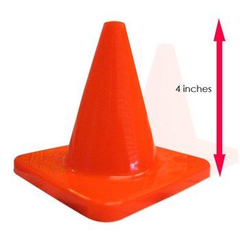 4 Inch Radio Control Car Mini Traffic Cone Orange Buy Mini