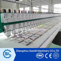 High performance flat embroidery machine