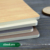 student diary notebook wood soft cover paper B5 with bamboo cover