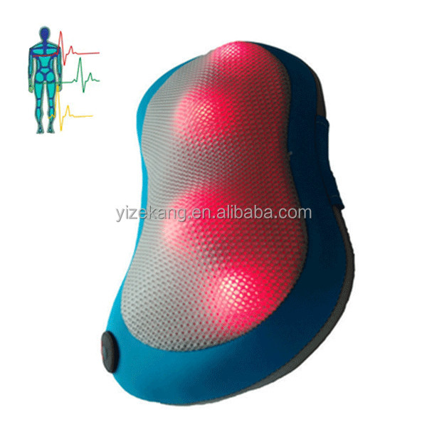 Infrared Back Pain Relief Pillow Massager Health Care Products for Car Seat Cushion Pillow Factory in China