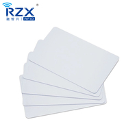 Premium White Blank Plastic CR80 30 Mil PVC Cards for ID Badge Printers