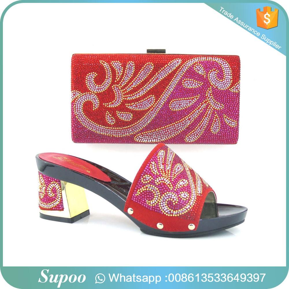 Custom Beautiful Party Wear High Heels Flower Pattern Decoration