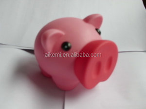 high quality promotional souvenir gift pvc piggy bank,plastic PVC piggy banks,kids plastic pvc piggy bank atm