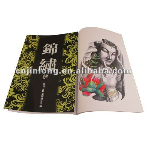 2012 hot sale tattoo flash book from jinlong