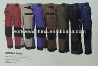 Cargo Pants With Cordura Fabric Knee Pad Pockets