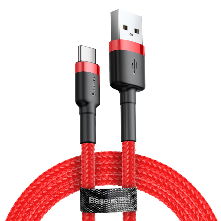Baseus 3A Fast Charge Type C Usb Data Charging <strong>Cable</strong> for Android