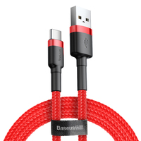 Baseus 3A Fast Charge Type C Usb Data Charging Cable for Android