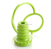 Kitchen Anti-Lost Hanging Silicone Wine Bottle Stoppers Sealed Button