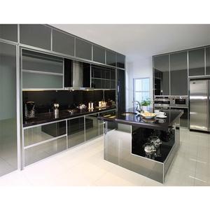 Tremendous Aluminium Stainless Steel Kitchen Cabinet Best Price Kitchen Cabinet Download Free Architecture Designs Fluibritishbridgeorg