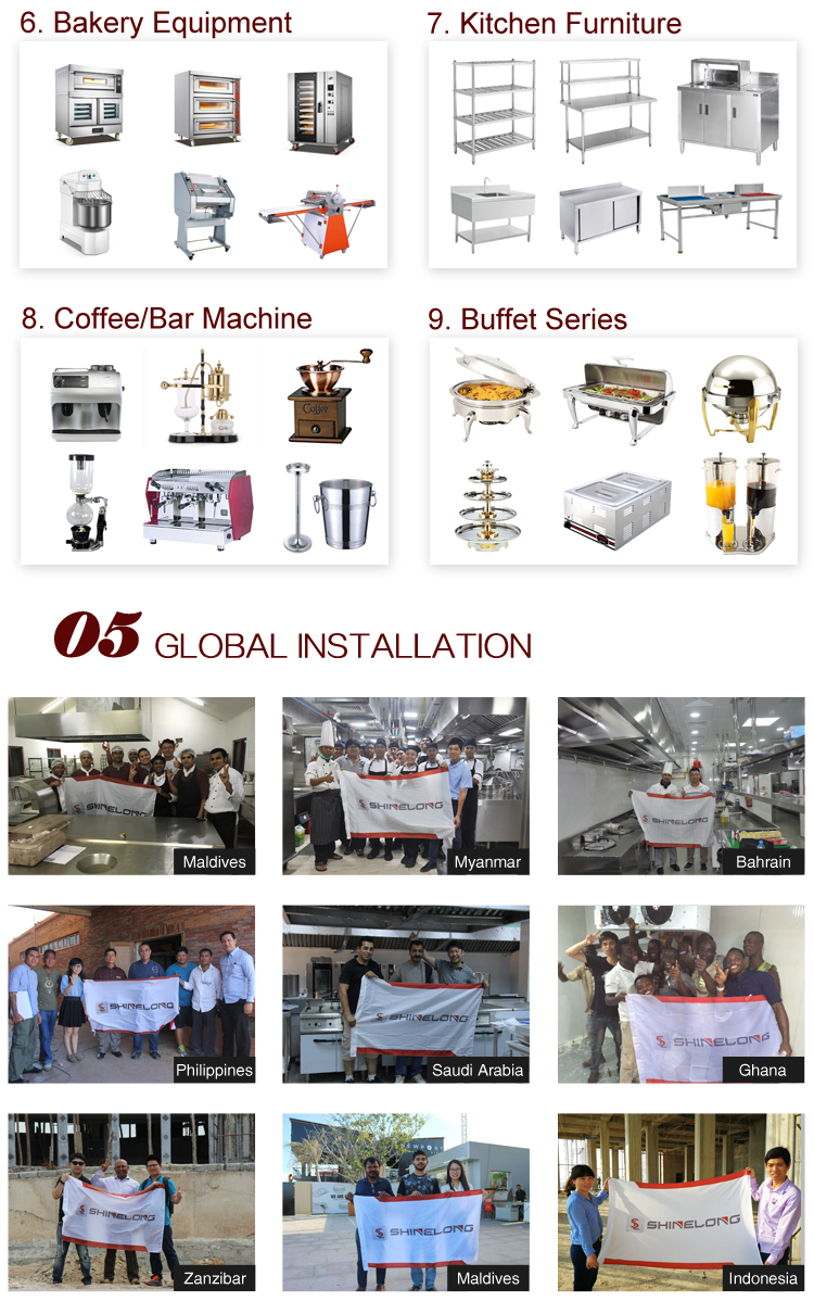 Furnotel Commercial Electric Gas Automatic Bread Baking Oven Prices /Complete Bakery Equipment Machine For Sale