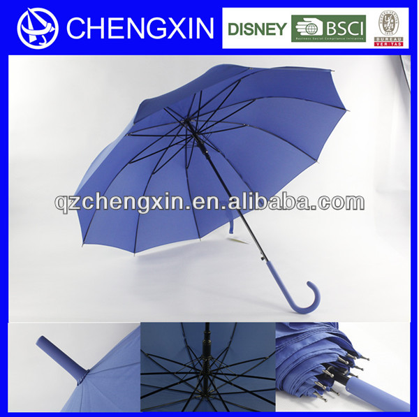 China manufacturer windproof outdoor advertising straight umbrella