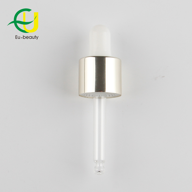 High quality customized color aluminum dropper with pipette