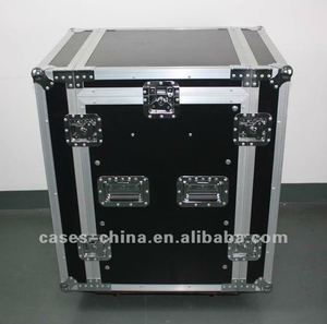 12U professional design dj flight case