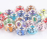 large hole gemstone beads jewellery making material DIY accessory chinese crystal beads wholesale