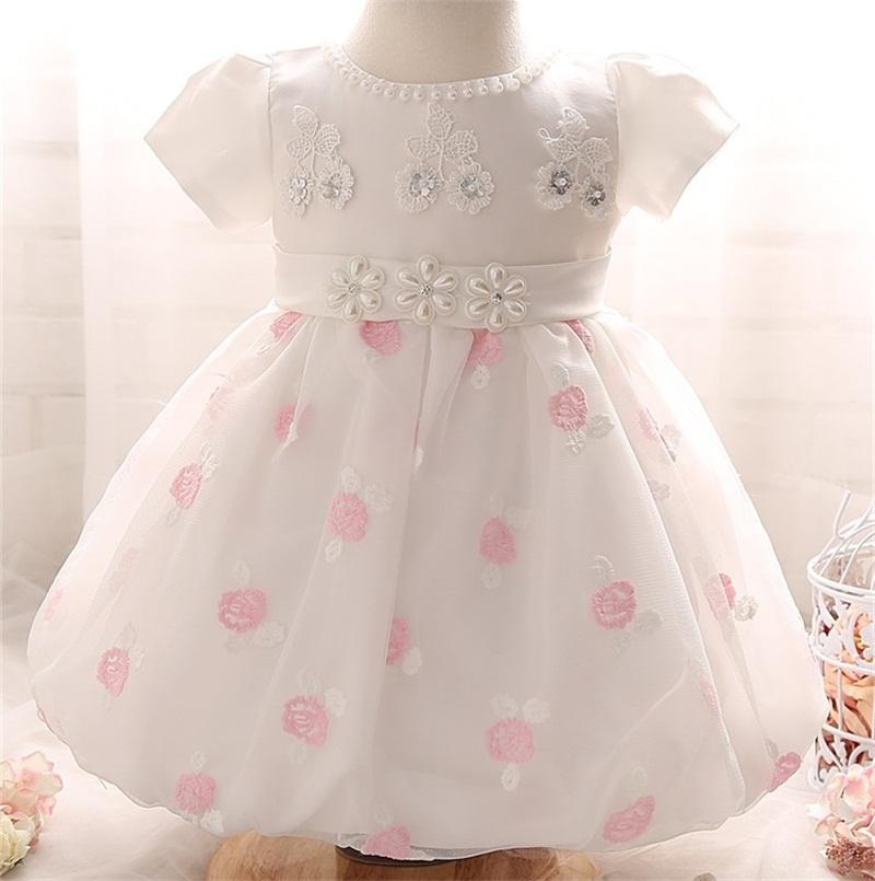 d0bb0b822 AHAHA Vestidos de Boda de la Princesa del Bebé Bautizo Vestido de ...