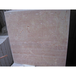 good packing and timely delivery pink marble tile peach Marble