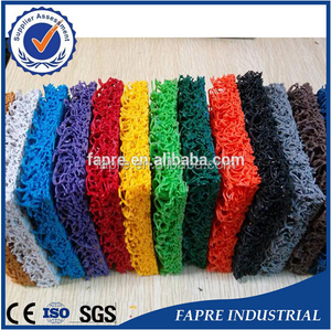 Manufacturer of cheap price supplier of without backing water draining pvc cushion mats