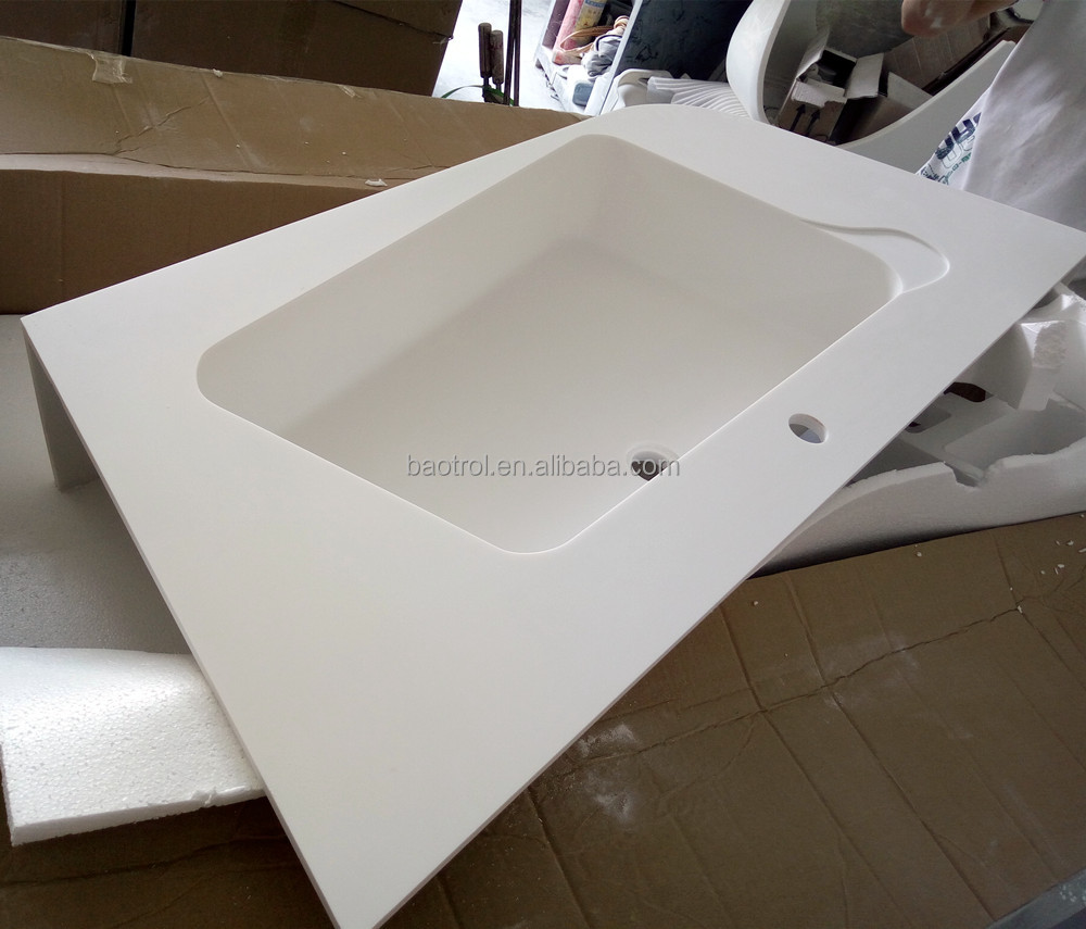 Integrated Bathroom Sink And Countertop, Integrated Bathroom Sink And  Countertop Suppliers And Manufacturers At Alibaba.com