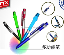 phone holder promotion ballpen CH-7009 Stylus Pen With Phone Stand And Screen Cleaner