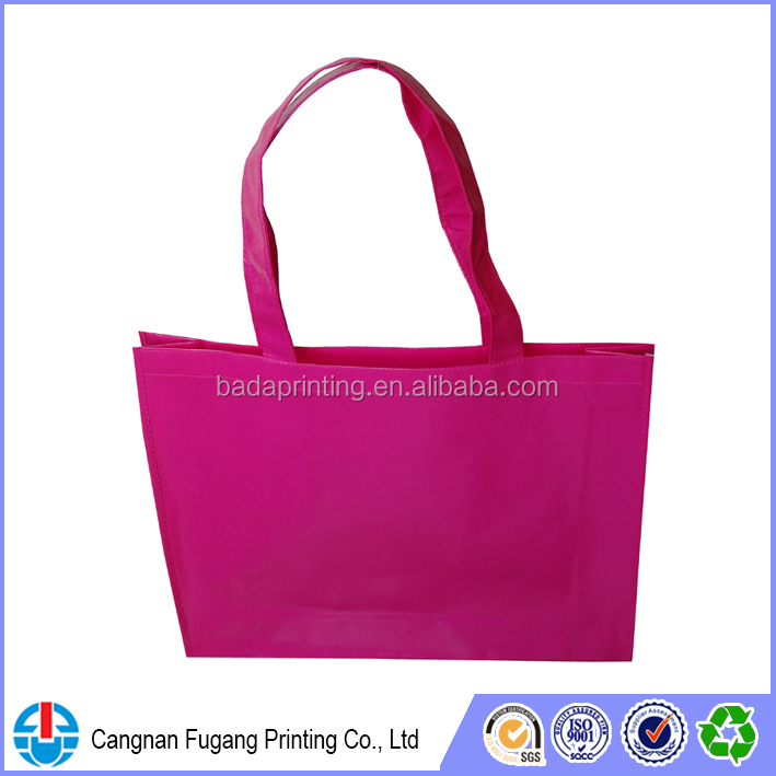 Gloss lamination non woven bag with high quality