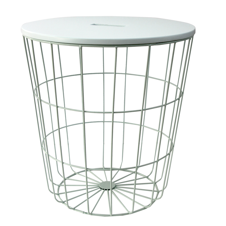 Modern Style Colorful Round Metal Iron Wire Mesh Table Buy Wire
