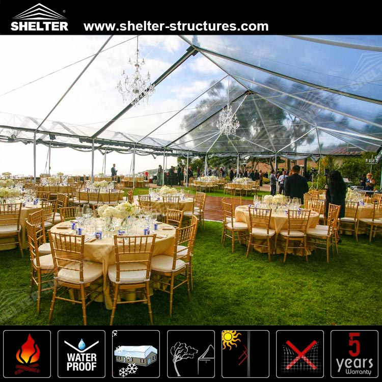 20 x 30 frame/wedding tent for sale