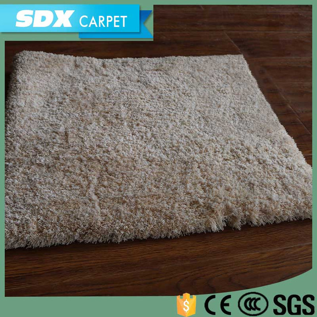 Romantic Style Floral Pattern Wall To Wall 100% Polyester Washable Bathroom  Floor Carpet Tiles