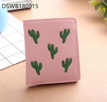 Fashion pu   leather wallet for women ladies designer pu leather wallet with zipper women wallet
