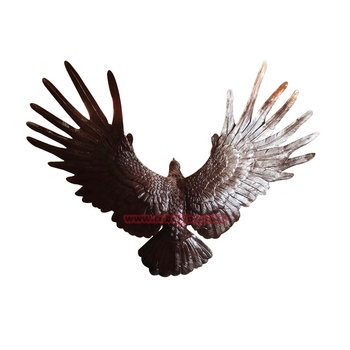 High Quality home ornaments products metal bronze eagle statues