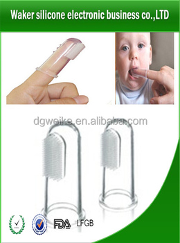 High quality BPA free silicone teethbrushe baby teethbrushes