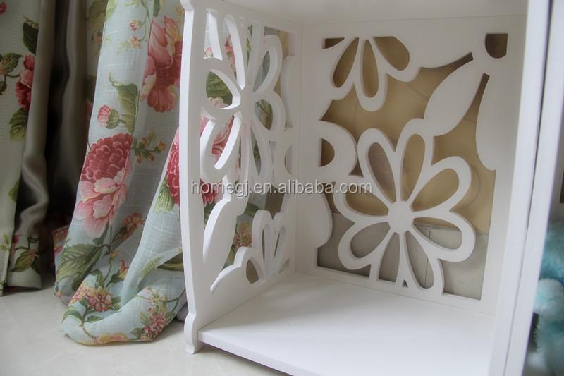 Gj-yh12040 hout kunststof hoek boekenkast witte woonkamer kubus ...