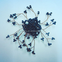 new particular wire bloom beads decorative flower,various metal flower