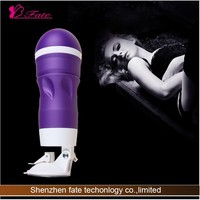Hands-free multi-function Hong Kong 5D electric male masturbation cup 12 speed vibrating vagina/anal/ oral sex cup