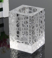 Crystal Pen Holder Office Table Decoration Item