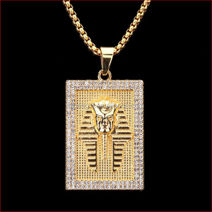 Hip Hop Tide Brand Last Kings Pharaoh Alloy Charms pendant Necklace