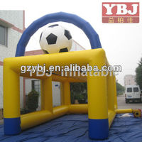 Inflatable sports game,inflatable football goal