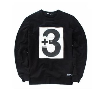 f7a424017bb2 Custom Mens Printed Crewneck Sweatshirt - Buy High Quality Printed ...