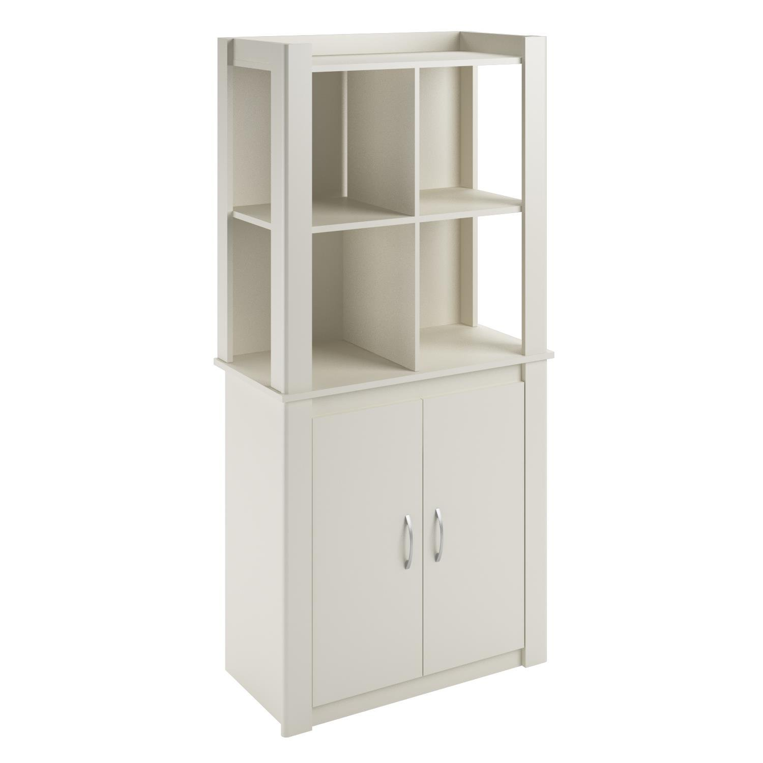 Get Quotations · Cosco Products Riley Baby Room Tall Storage Cabinet with Doors White  sc 1 th 225 & Cheap Tall Utility Cabinet find Tall Utility Cabinet deals on line ...