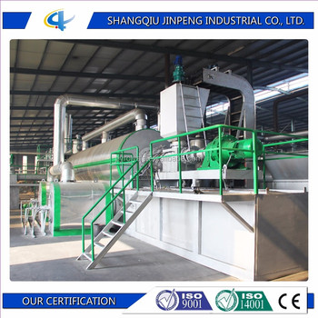 Waste to Heavy Fuel Oil Production Line Waste Plastic to Fuel Oil Plant Waste Tyre to Oil Machine
